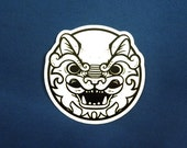 Fu Dog Lion Vinyl Sticker