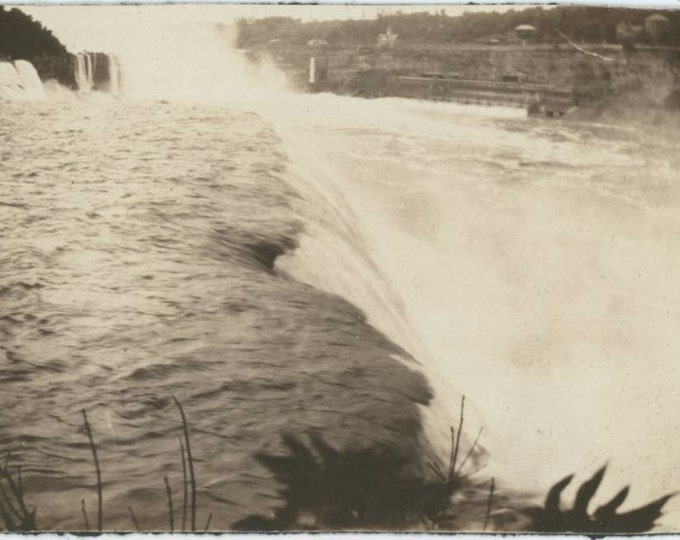 Niagara Falls, c1910s Abstract Vintage Photo (61448)