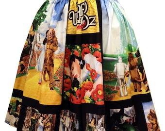 Wizard of Oz Photo Midi Full Skirt
