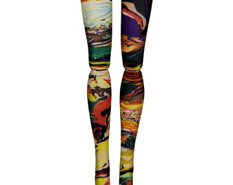 Monster High Doll Stockings - Cosmic Storm - Doll Clothes - All Sizes