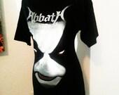 Abbath Immortal black metal diy female ladies band shirt boatneck tunic many sizes