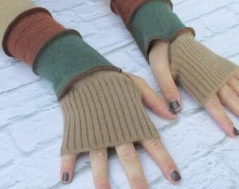 Gift For Her - Long Fingerless Gloves - Winter Gloves - Driving Gloves - Warm Gloves - Winter Clothing - Gypsy Clothing - Christmas Gift