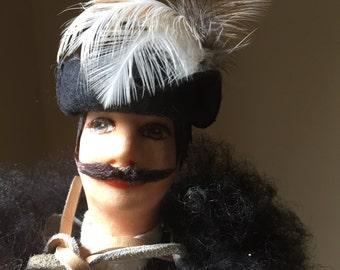Hungarian Cowboy Csikosok Shepherd Doll The Great Plains Handmade European Male Doll