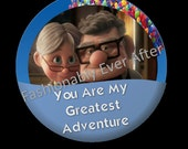 Disney Inspired Celebration Button UP Greatest Adventure
