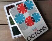 Vintage Galt Toy Octons Plastic Building Discs