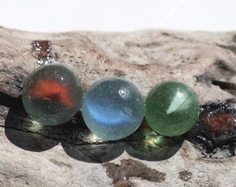 Scottish sea glass marbles genuine seaglass jewelry supplies arts&crafts supply