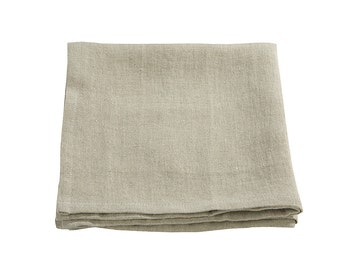 Cloth napkins - linen napkins - table napkins set - table linen natural - dinner napkins - natural color napkin - napkin linen