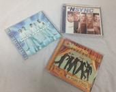 lot of backstreet boys and nsync cds