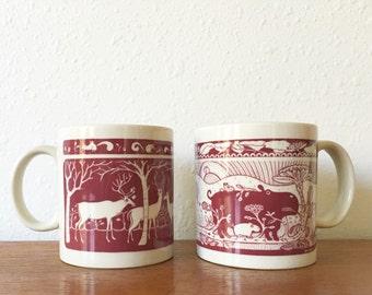 Vintage 1978 Taylor & Ng Mug Set