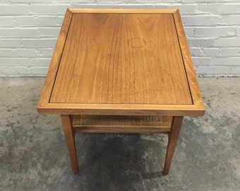 Kipp Stewart For Drexel Declaration Mid-Century Modern End / Side Table - Mad Men / Eames Era Decor *SHIPPING NOT INCLUDED*