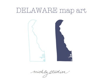 Vector & PNG Delaware clipart, map clip art,state, country, silhouette, printable