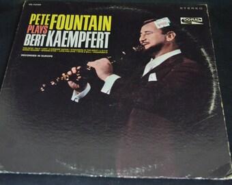 Vintage Vinyl Record Pete Fountain Plays Bert Kaempfert Album CRL-757499