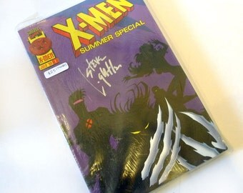 X-MEN Summer Special #1 *SIGNED by Steve Lightle* Marvel Comics