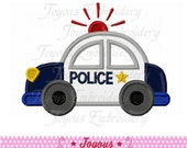 Instant Download Police car Applique Machine Embroidery Design NO:1915