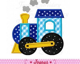 Instant Download Train Applique Machine Embroidery Design NO:1923