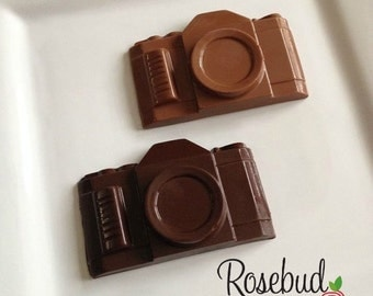 8 Chocolate Camera Favors Photographer Birthday Retirement Candy Snapshot Dessert Table Wedding