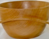 858 Art bowl, made from Silver Maple