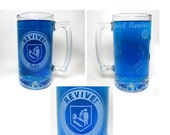 Revive Soda and Quick Revive Inspired Hand Etched Mug - COD Zombies Inspired Beer Mug