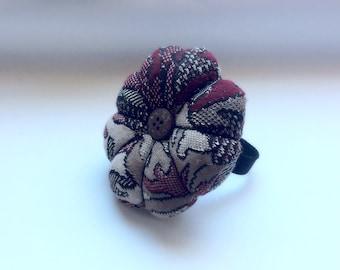 Handmade Wrist Pin Cushion ( Approximately 8cm )