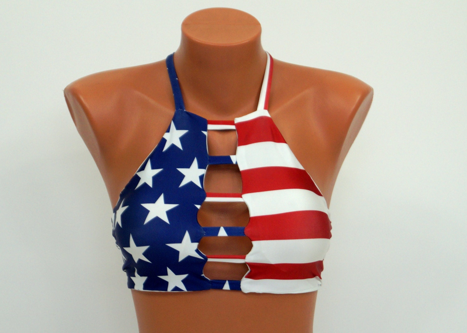 You searched for: american flag bathing suit! Etsy is the home to thousands of handmade, vintage, and one-of-a-kind products and gifts related to your search. American flag stars bathing suit top with ruffles, bandeau bikini women's LoveLucyBea. out of .