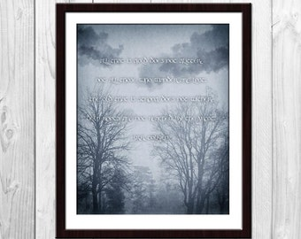 Not All Those Who Wander Are Lost Poster - Riddle of Strider Poem