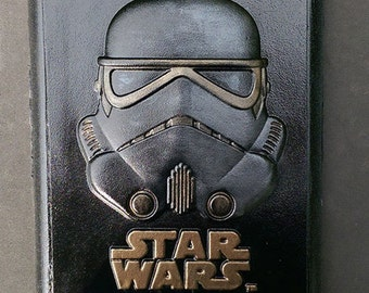 Star Wars 3D StormTrooper bust or plaque of  - Looks amazing when painted!