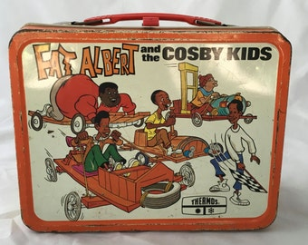 1973 FAT ALBERT and the Cosby Kids Lunchbox - No Thermos