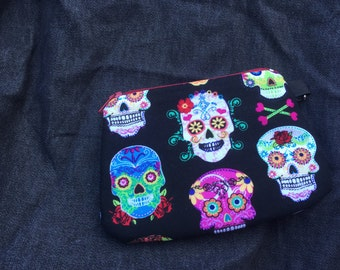 Day of the Dead Wristlet/Coin Purse