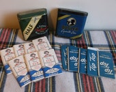B&W , TipTop Vintage cigarette Cases and rolling papers
