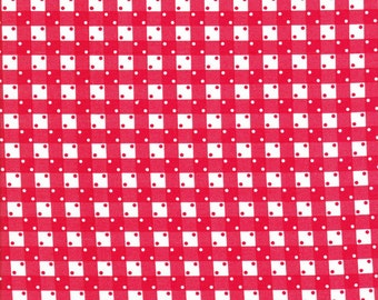Penny's Pet's by Darlene Zimmerman for Robert Kaufman ADZ161823 - Red Gingham - Cotton Fabric