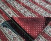 Square cotton Esterel red