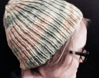 Back & Forth (Slouchy Knit Hat)