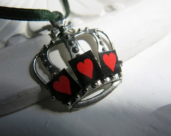 Pendant with hearts crown. Ref.P50