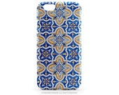 Samsung Galaxy S6 iPhone 6S Case Blue Tile iPhone 6S Plus Case Old Portuguese Tile iPhone 5s Case iPhone 6S Case iPhone 6 Plus TPU Case T93d