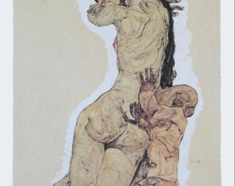 "Schiele Egon 61, Lithograph ""Mother and Child"""