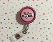ID Badge clip - Medical Assistants rock