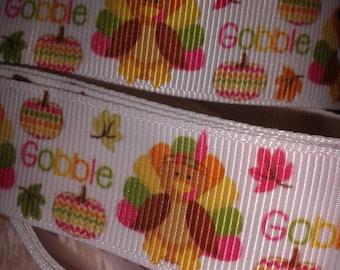 Gobble Grosgrain Ribbon