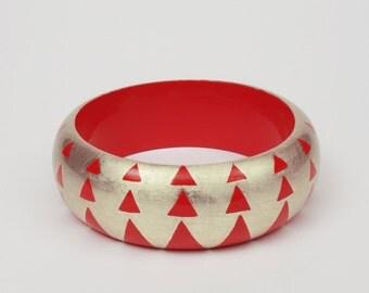 bracelet AGUAYO Red & White Gold