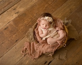 Newborn Photo Prop: Burlap Layering Mini Blanket for Newborn Photo Shoot, Newborn Photography, Infant Photography, Infant Photo Prop