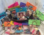 Ephemera 100+ Peice Paper/Embellishment Pack Found Paper Junk Journal Mixed Media Kit