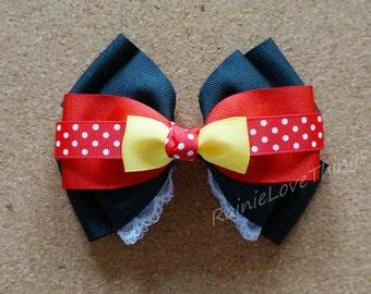 Mrs Mouse Hair Clip Hair bow