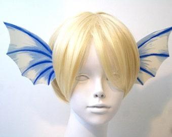 Blue Ear Fin Headband / Mermaid, Faerie, Dragon / Cosplay Costume