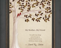 Special Wedding Gift For Brother : ... giftWedding gift for brother or sister -other colors available