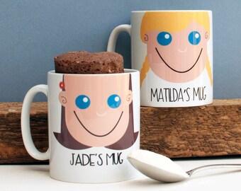 Personalised Girl Gift Mug-Niece Mug-Personalized Gift Mug-Granddaughter Gift-Daughter Mug-Gift for Little Sister-Gift for Little Girls