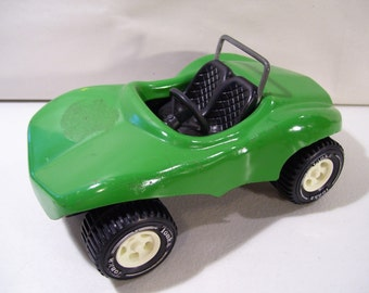"VintageTonka Die-cast 7"" Dune Buggy Vehicle, Green, 1970'S"