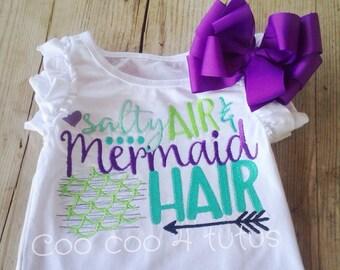 Salty Air and Mermaid Hair Shirt
