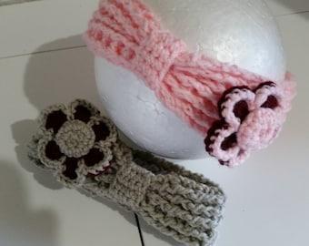 Baby Headband Crocheted