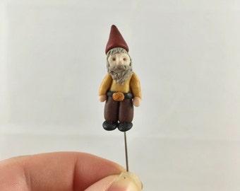 Miniature Garden Gnome Terrarium Figurine