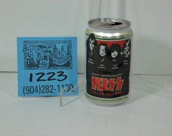 1996 KISS Czeh Republic Tour '96 Beer Can