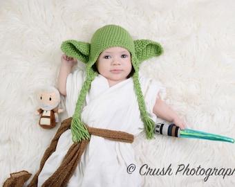 Baby Yoda Hat Etsy